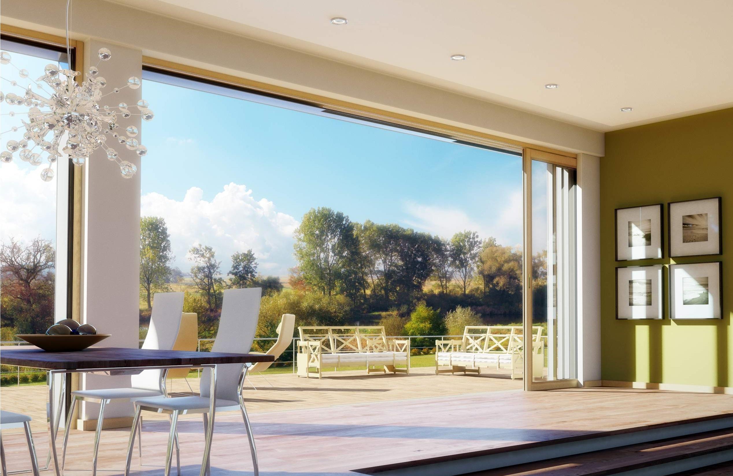 Gli infissi a scomparsa eleganti e pratici per la tua casa - Controtelaio finestra prezzo ...
